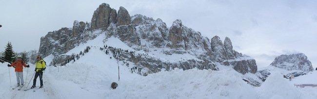 Ski Safari Dolomites - Gardena pass