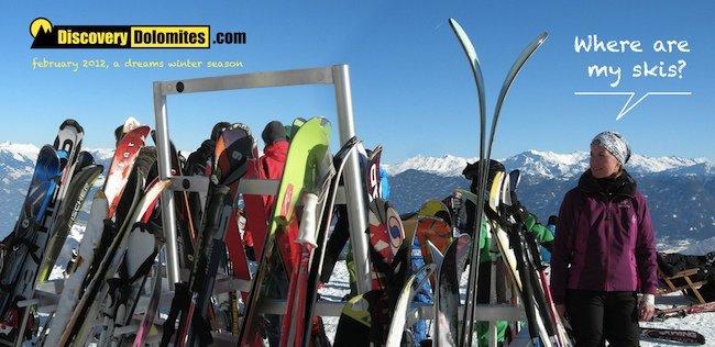 Ski Safari Dolomites skis