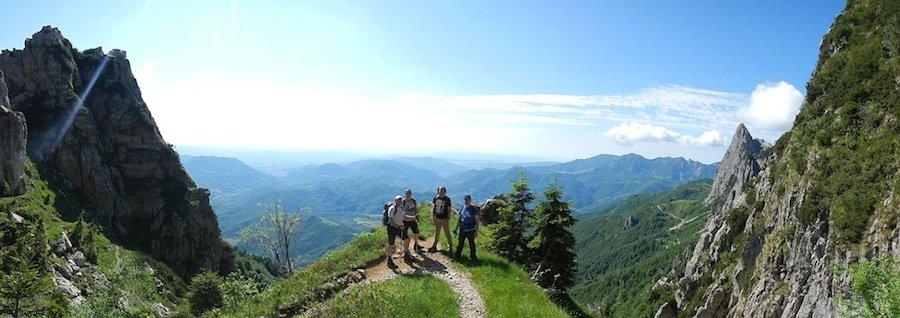 WW1 Pasubio Dolomites Trekking